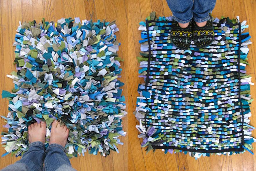 Renovarse o morir idoproyect - Como hacer alfombras de nudos ...