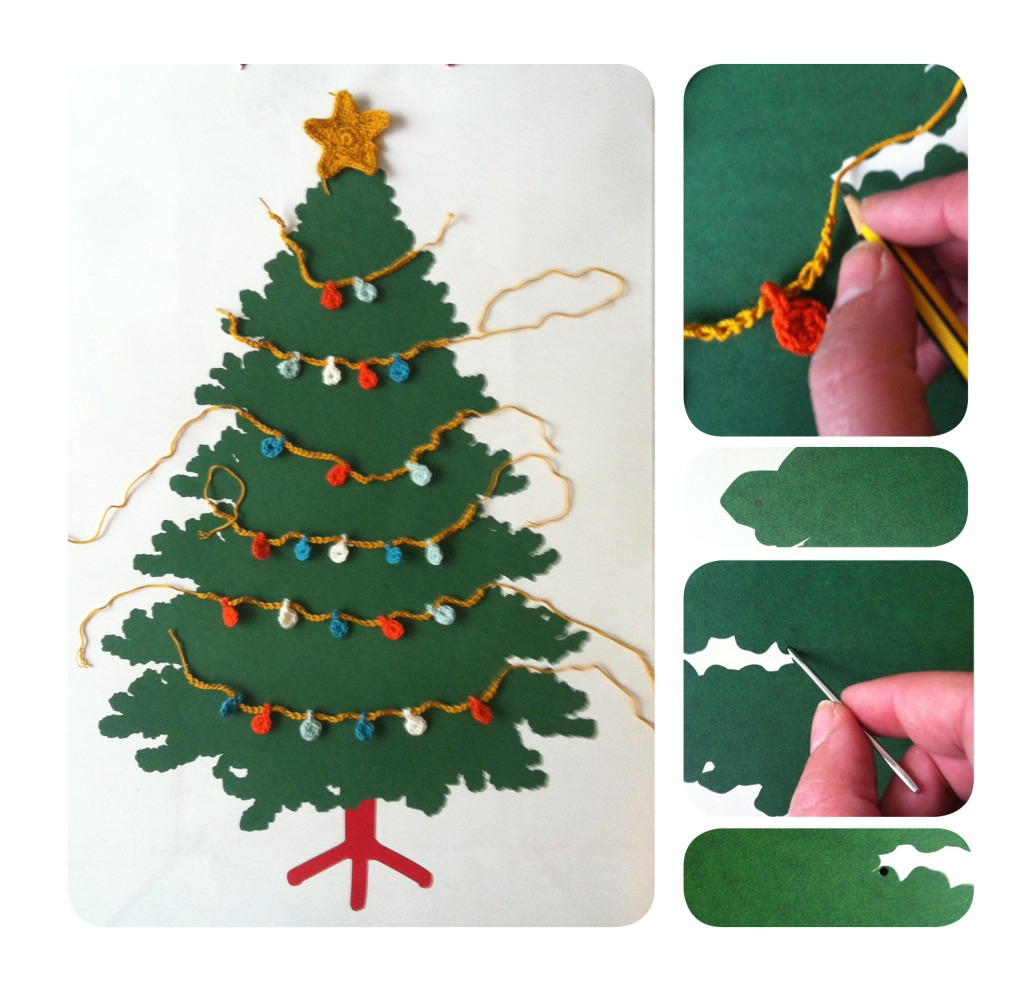 arbol navidad, paso 2